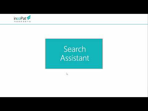 Patent Search Training(incoPat~Global Patent Database Provider)