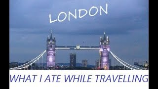 London Travel Vlog | What I Ate | WFPB | Vegan
