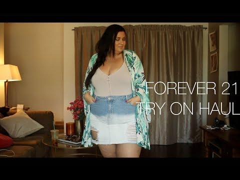 PLUS SIZE FASHION TRY ON HAUL | Mini Forever 21 Plus Summer Loves!