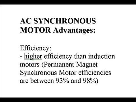 Induction vs synchronous motors advantages for Advantages of ac motor