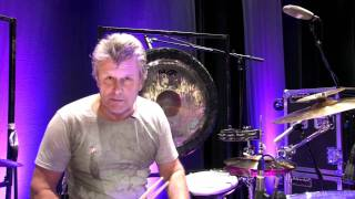 The legendary Carl Palmer plays the Korg Wavedrum!