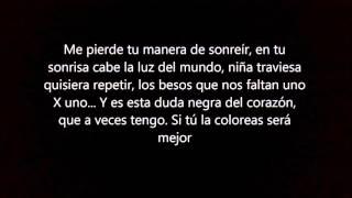 Manuel Carrasco - Uno X uno (letra)