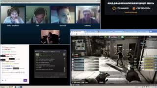 ржач на стриме у Strike c Zeus (ESL Cologne 2015) Exclusive video