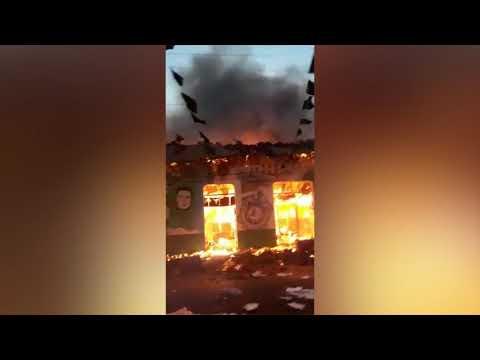 Incendian el CUUN de León