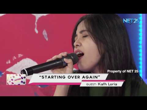 KATH LORIA - STARTING OVER AGAIN (NET25 LETTERS AND MUSIC)