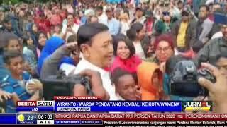 Pastikan Kondusif, Wiranto Minta Pengungsi Kembali ke Wamena