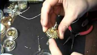 How To Make A Real Working Miniature Chandelier Light For Dollhouse. Easy! Garden-of-imagination.com