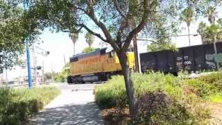 Union Pacific Folsom Turn Local Switching To Mather Spur Track