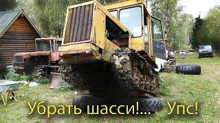 Заводим трактор ДТ75 Казахстан. Не так все просто!