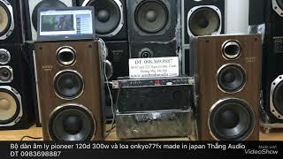 Bộ loa âm ly nhật bình dân Hot Hot vừa nghe nhạc vừa karaoke cực chất Thắng  Audio 0983698887  00082195ca251