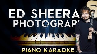 Video Ed Sheeran - Photograph | LOWER Key Piano Karaoke Instrumental Lyrics Cover Sing Along download MP3, 3GP, MP4, WEBM, AVI, FLV Januari 2018