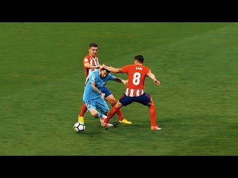 Trying To Stop Lionel Messi 2017-2018