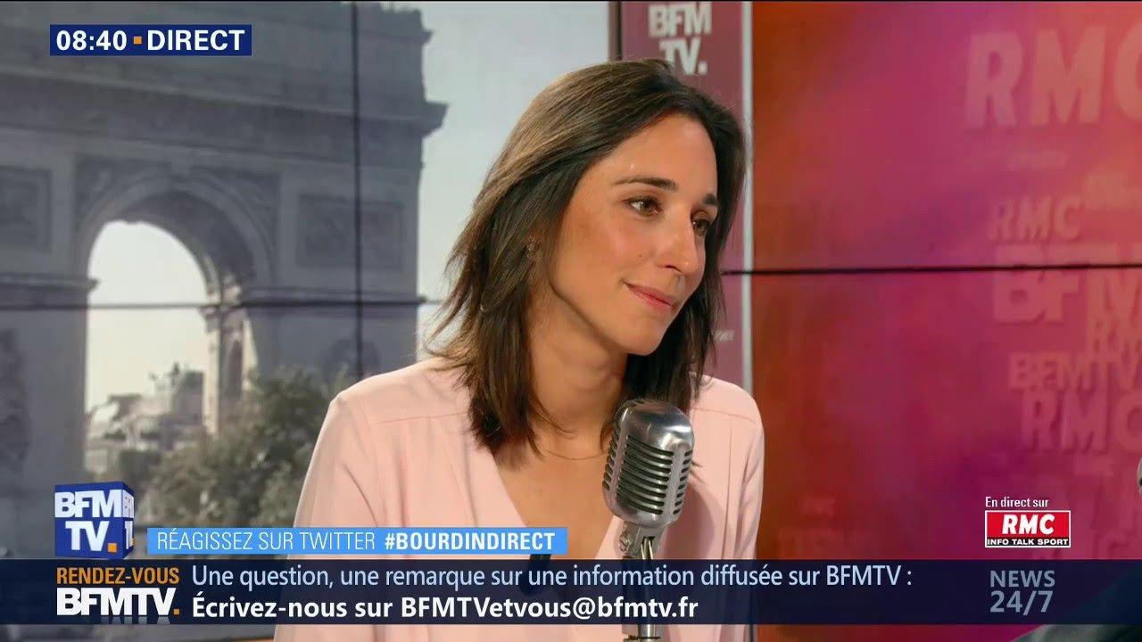 Brune Poirson était face à Jean-Jacques Bourdin sur RMC et BFMTV