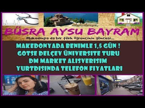 Beraber 1,5 GÜN ! |  UGD Üniversite Turu,Telefon Fiyatları,DM Market Alışverişim  | Vlog 2