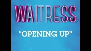 'Opening Up' - Instrumental Lyric Video | Waitress Musical