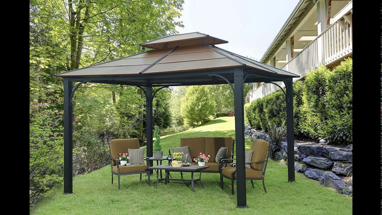Sunjoy Hardtop Gazebo Review