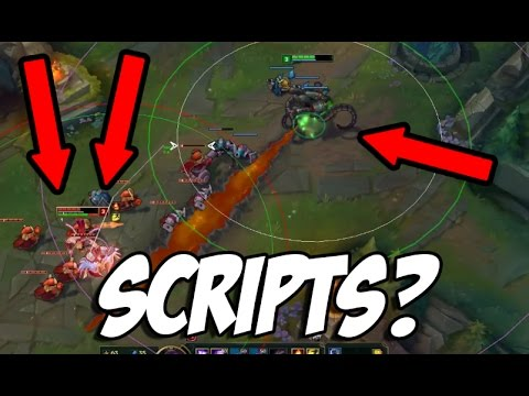 Bronze player with SCRIPTS vs. One Challenger! - League of Legends