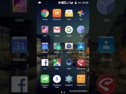 Merubah tampilan andromax a menjadi iphone