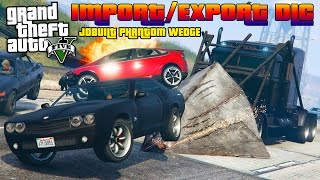 GTA V Online : TRIPLE XXX CAMIÃO DA MORTE | JOBUILT PHANTOM WEDGE