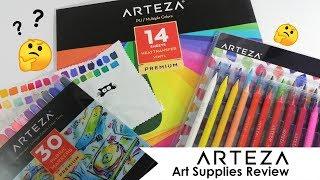 Affordable art supplies?? Arteza art supplies review