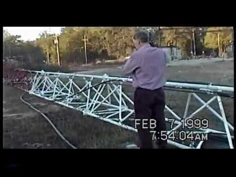 400'  FM Radio / Cell Tower Explosive Demolition Crawfordville Road, Tallahassee, FL 2/7/1999
