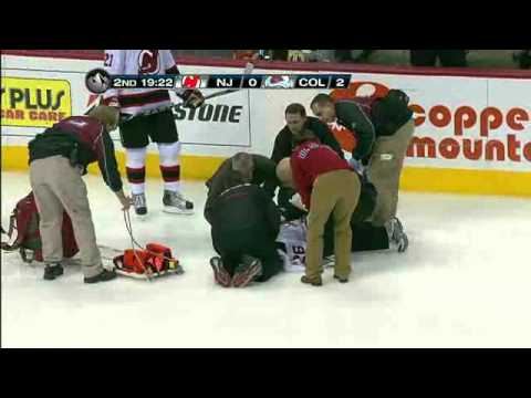 Ryan Wilson huge hit on Elias - NHL Alltitude Feed