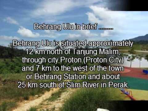 Oil-palm plantation ....... 100 acres ...... Behrang, Perak, Malaysia