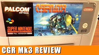 Classic Game Room - CYBERNATOR review for Super Nintendo