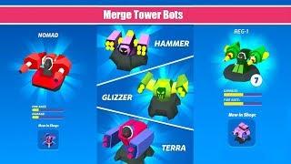 MERGE TOWER BOTS (by Hyper Mania) - Andorid Gameplay, Mobi