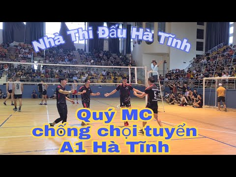 Bổ Sung Đức Hạnh tuyển Seagame 2019 cùng Văn Thành chủ công số 1 Hà Tĩnh  gặp team Quý MC . Set 3