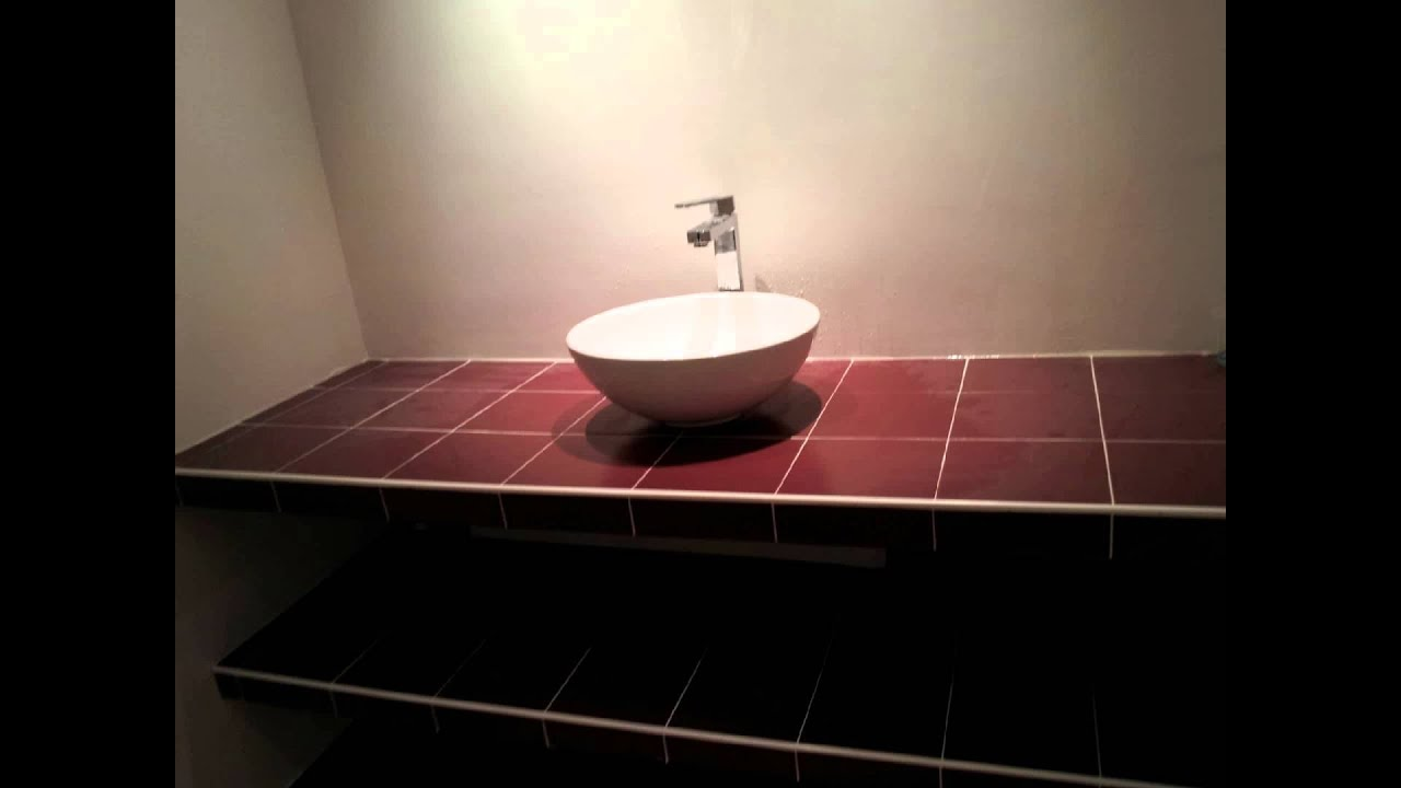 am nagement de salle de bain youtube. Black Bedroom Furniture Sets. Home Design Ideas