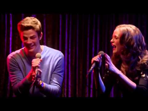 The Flash - Barry and Caitlin sing