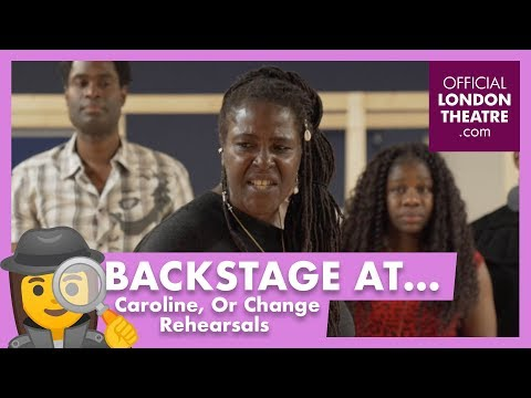 EXCLUSIVE First Look at Caroline, Or Change Rehearsals