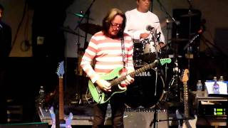Todd Rundgren & Utopia reunion FREAK PARADE highline ballroom 1/30/11 incomplete