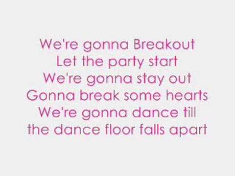 Breakout~Miley Cyrus w/ lyrics