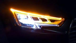 2016 Audi A4 B9 Matrix Beam Led Interior Light Lighting Backup Reverse Camera Presentation