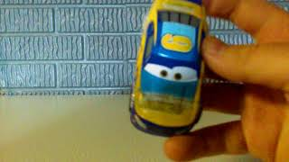 Cars 3 toy review transberry juice