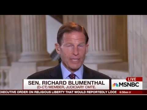 Democrat Senator Richard Blumenthal ADMITS Huma Abedin Committed a CRIME
