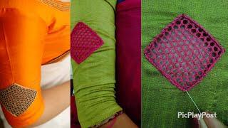 Cutwork design  ഇങ്ങനെയു൦ ചെയ്യാം with Normal Needle|passion in fashion|