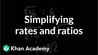 Simplifying radicals | Exponents, radicals, and scientific notation | Pre-Algebra | Khan Academy thumbnail