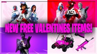 «NOUVEAU» Partager l'amour 'EVENT' Saint-Valentin Défis! Skins gratuits et articles! (Fortnite Battle Royale)