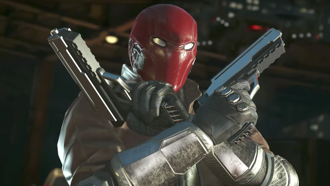 Injustice 2 - Red Hood Gameplay Trailer - YouTube