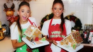 Gingerbread House Challenge!  The Rybka Twins