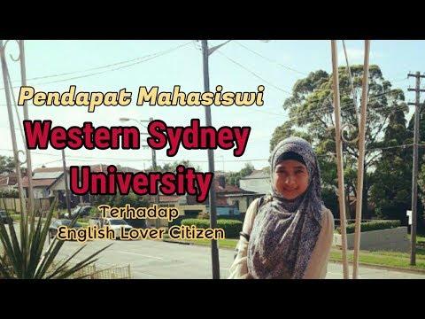 Pendapat Mahasiswi Western Sydney University tentang English Lovers Citizen
