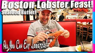 Boston Lobster Feast Full Dining Review! All You Can Eat Maine Lobster!