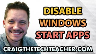 How To Disable Windows 7 Startup Programs