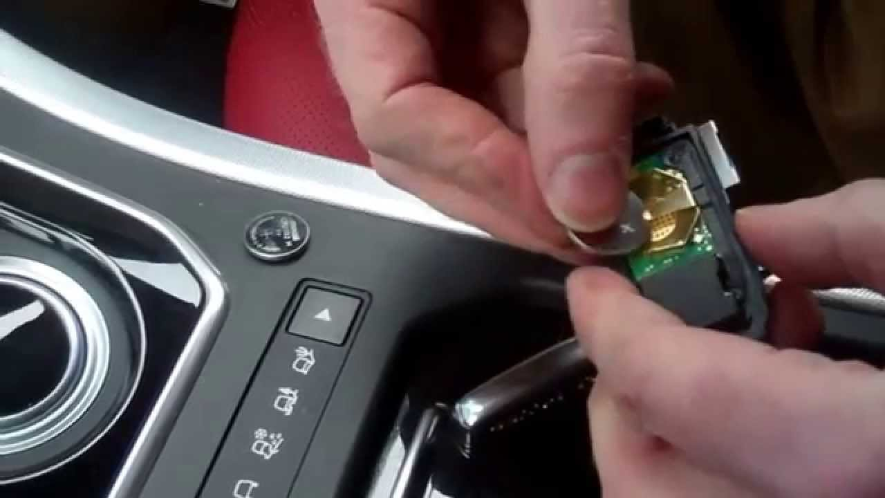 How to change the remote keyfob battery on Range Rover Evoque