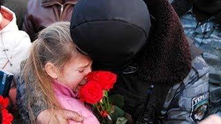 В Севастополе Беркут, вернувшийся из Киева, встречали цветами и объятиями