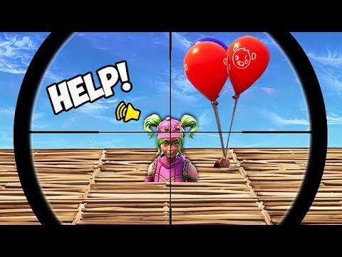 THE *NEW* BALLOON TRAP! - Fortnite Funny Fails and WTF Moments! #371
