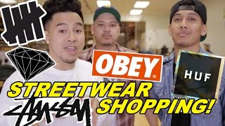 WHAT ITEMS TO GET AT A STREETWEAR STORE!
